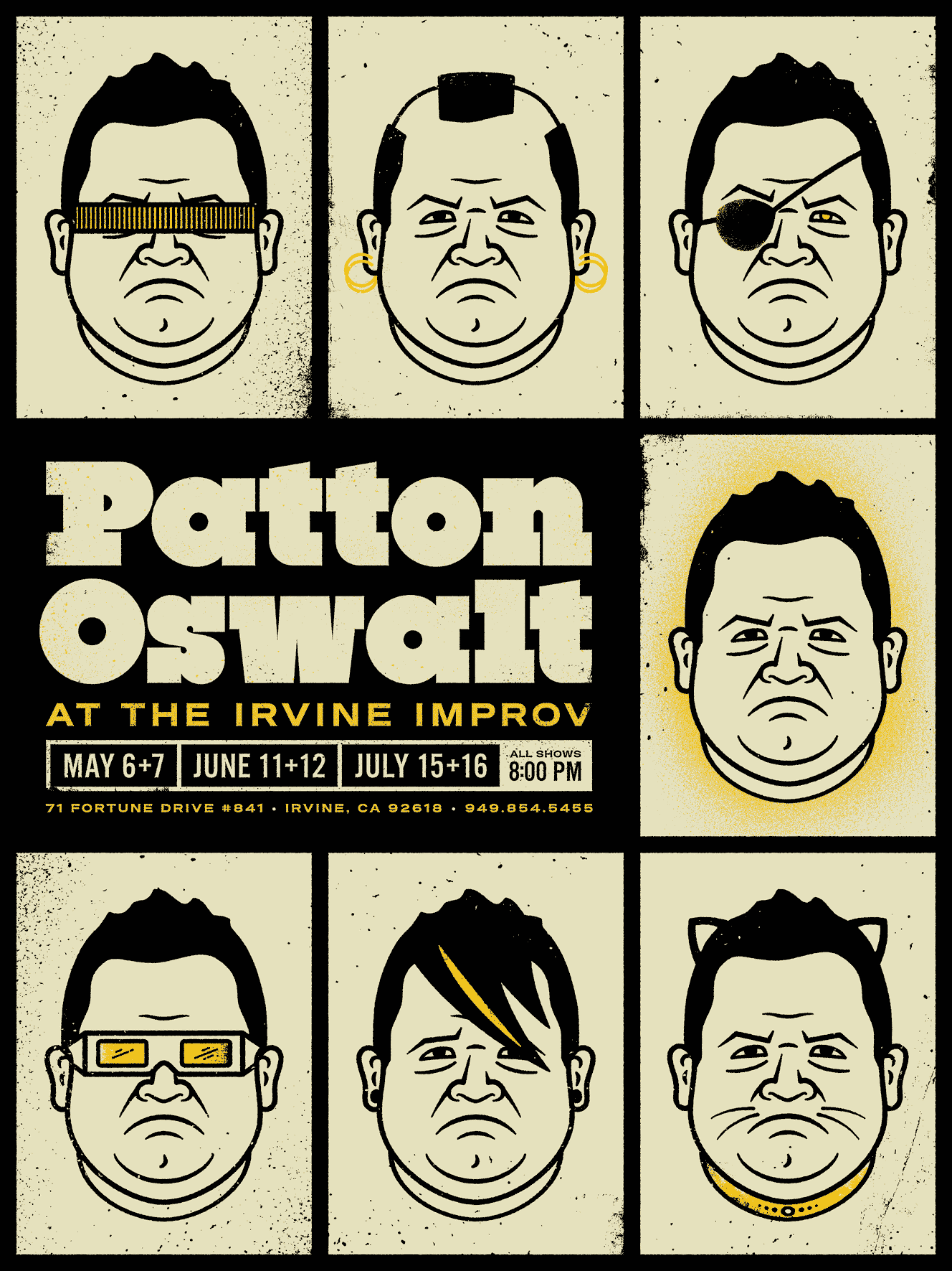 Odds & Ends - patton oswalt large